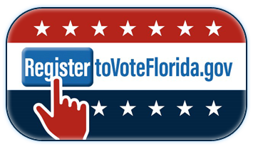 Register to Vote Florida logo